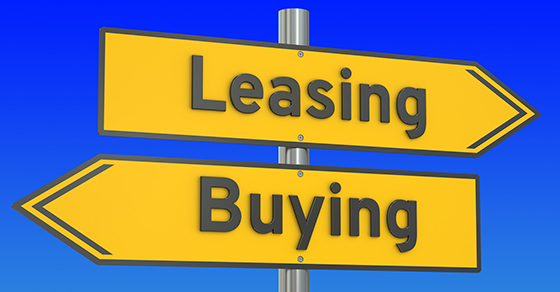 Lease or Buy? Changes to Accounting Rules May Change Your Mind