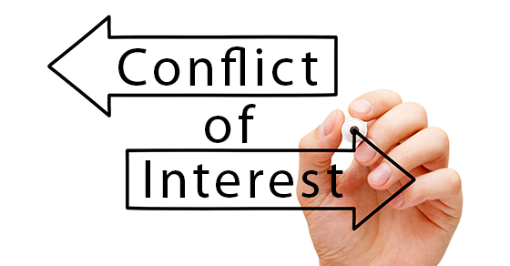 Avoiding conflicts of interest with auditors
