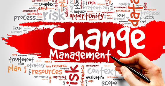 Lessons of 2020: Change Management