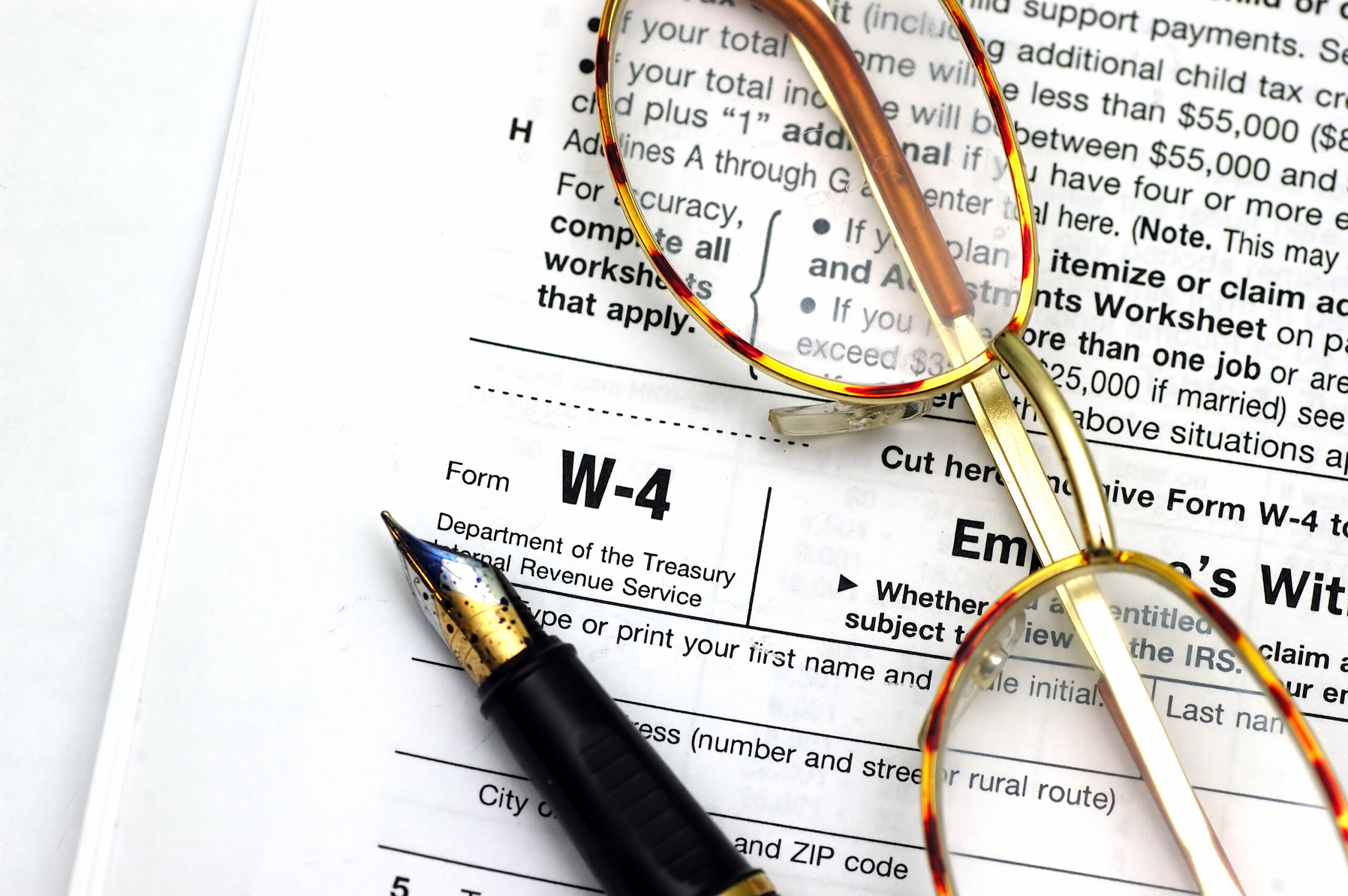 New 2020 Form W-4 for Your Employees