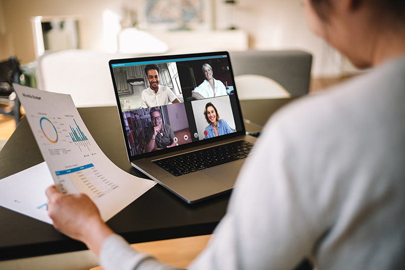 Work Remotely with Video Conferencing